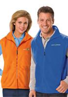 Personalized Blue Generation Adult Polar Fleece Vests
